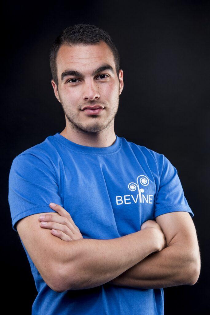 blagoi anastasov, co-founder of Bevine