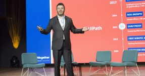 Daniel Dines, cofounder and CEO of UiPath
