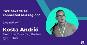 Kosta Andric ICT Hub Executive Director