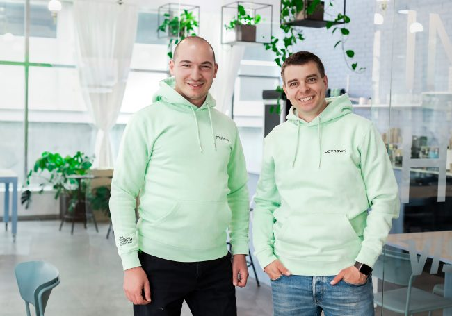 Co-founders Boyko Karadzhov CTO left and Hristo Borisov CEO right