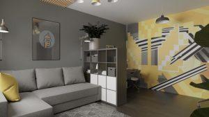 Michael Arrington's apartment