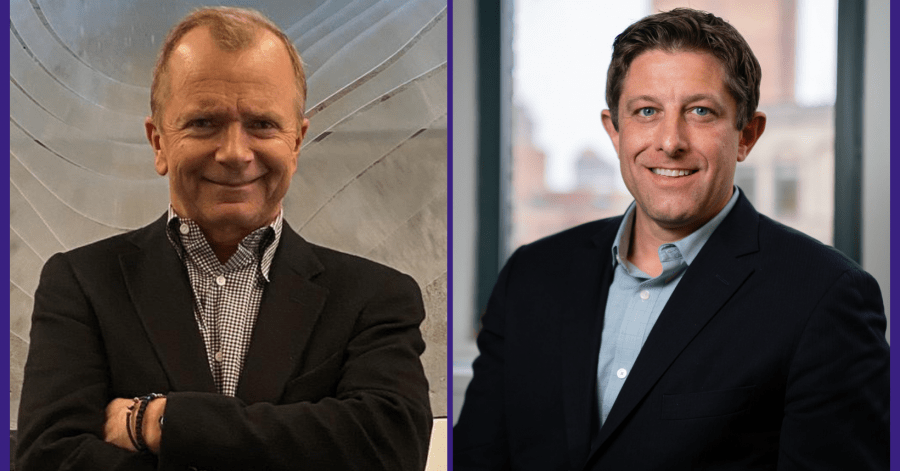 Leanplum CEO George Garrick and CRO Marc Chabot