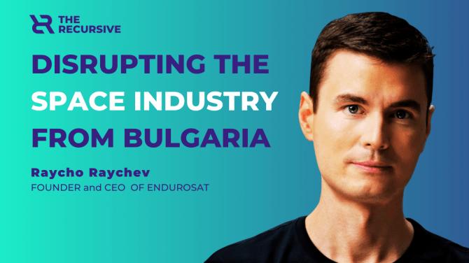Raycho Raychev, founder of space startup EnduroSat