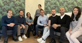 The team of Scaleflex, the media asset management platform