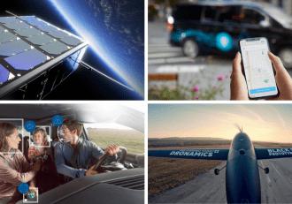 EnduroSat, Via Mobility, Bosch, Dronamics visualizations