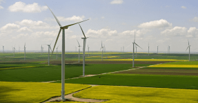 Wind farm Fantenele Cogealac Romania