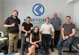 The Kriptomat team