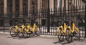 Bike sharing; Unsplash