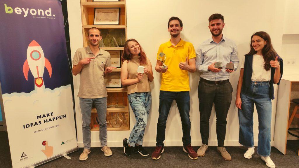 Team of Wasteful, winners of Beyond 2021