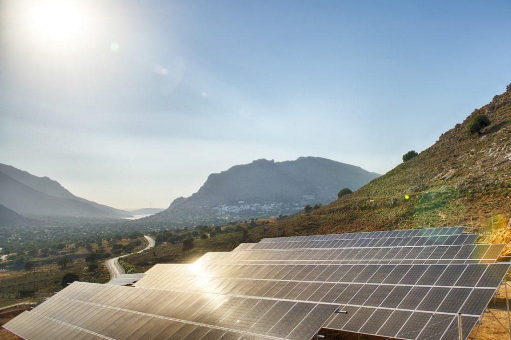 Solar PV farm in Greece, eunice-group.com