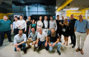 Vitosha Partners and the cohort of the first season of the acceleration program