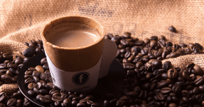 Cupffee, the edible and biodegradable cup