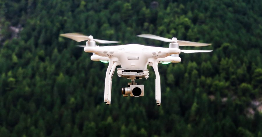 Drones can be use wildfires prevention or early detection