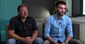 Rotax founders - Vasil Kolarov and Rosen Kolarov