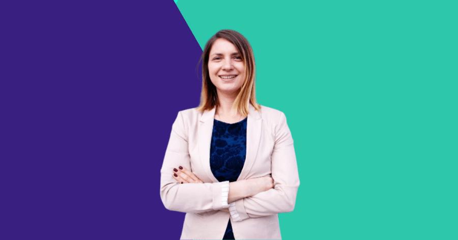 Iustina Faraon, co-founder and CEO of Coreto
