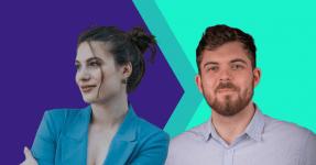 Konstantina Psoma (CEO) and Roman Bromidge (CTO) of Kaedim, AI 3D creation