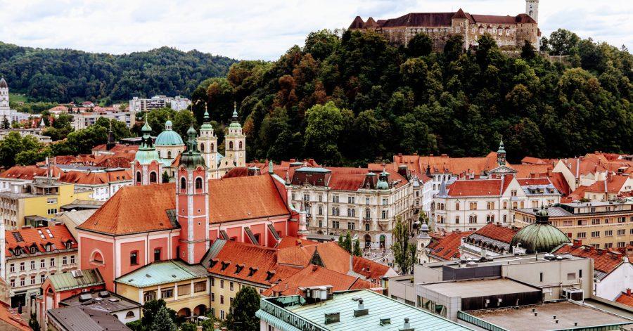 A Ljubljana drone shot, Greenvalley Pictures, Unsplash