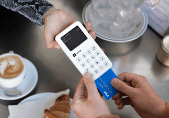 SumUp POS device