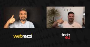 Arda Kutsal, founder of Webrazzi, and Robin Wauters, founder of Tech.eu